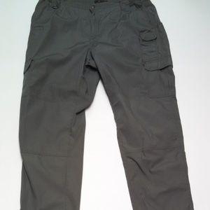 5.11 Tactical Pants Cargo Pockets Gray Color